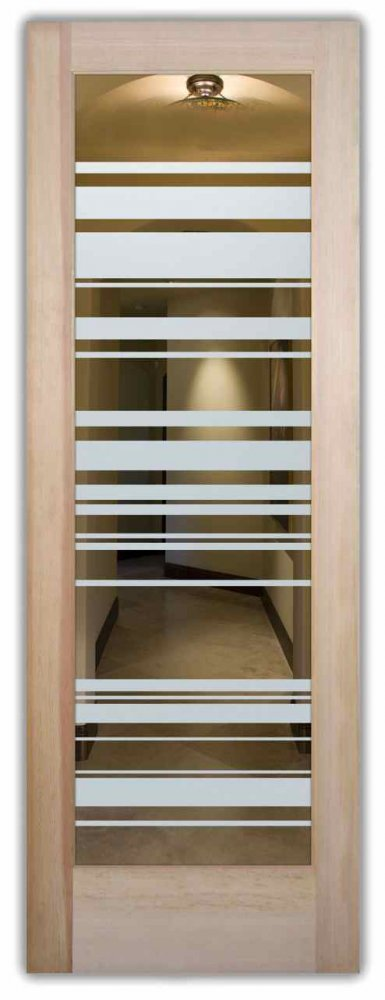 interior doors with glass etching custom glass geometric shapes barcodes sans soucie