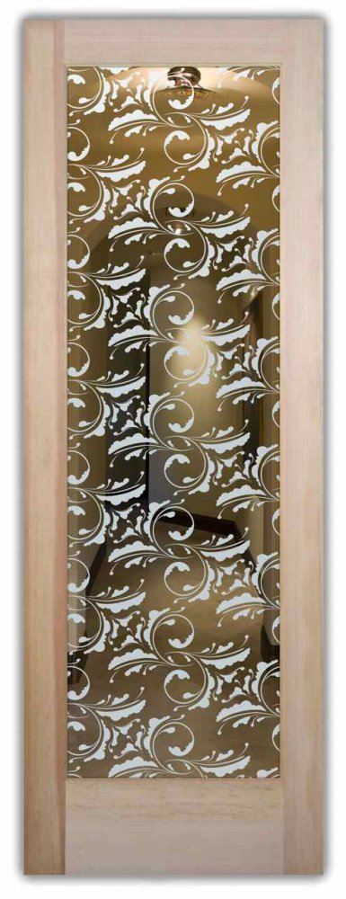 Cambridge Interior Doors W Glass Etching Victorian Decor