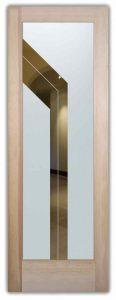 glass doors glass etching angular design sleek lines modern decor sans soucie angled bands
