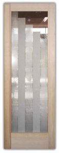 glass doors glass etching linear modern style design sans soucie