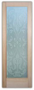 Glass Front Doors Etched Glass French Victorian Decor by Sans Soucie