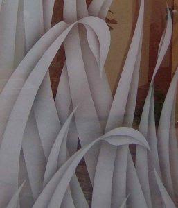 sandblasted glass tall reeds tropical decor sans soucie