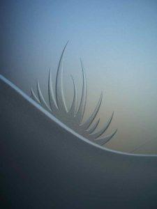 Carved Glass Desert Decor Desert Palm Trees