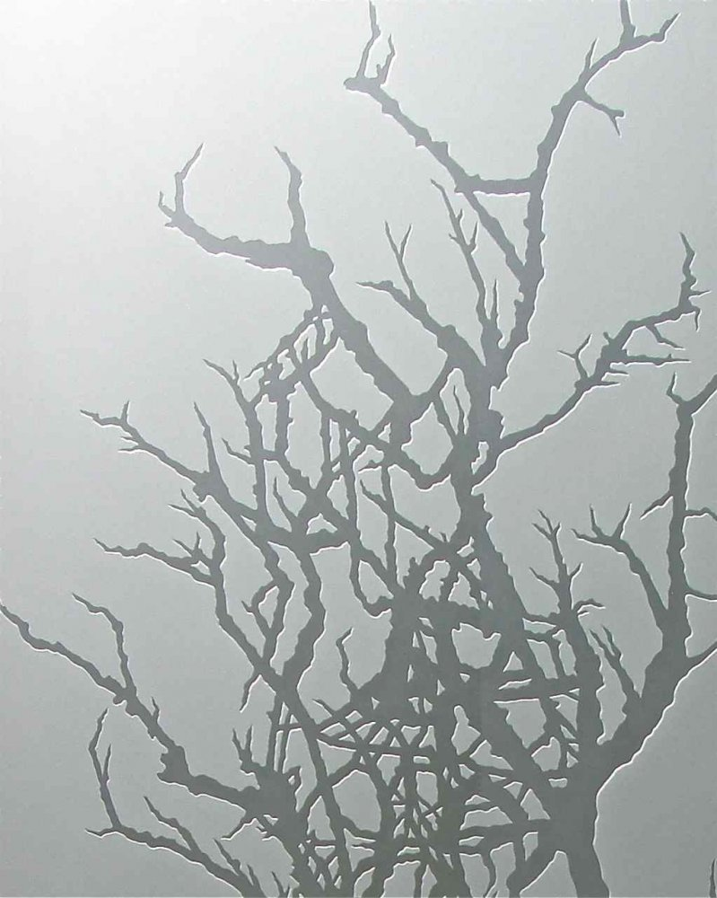 Winter Tree 3d Private Glass Door Inserts Sans Soucie