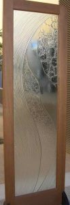 glass door coastal decor cast glass pattern eclectic sans soucie modern