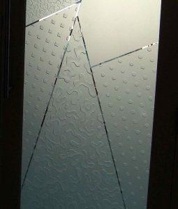 etching glass sandblasted glass sleek modern sans soucie