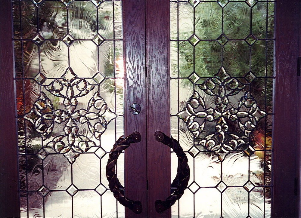 Traditional Beveled Glass Doors Sans Soucie Beautiful Bevels Door