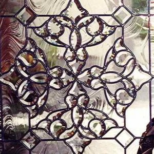 Beveled Glass Leaded Glass Stained Glass Sans Soucie Beautiful Bevels Door