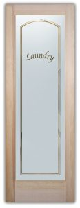 Sans Soucie Laundry Room Doors with Glass Frosting
