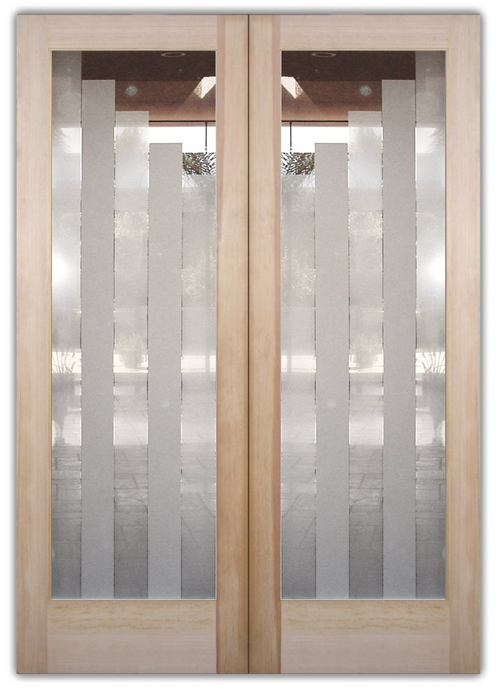 double entry doors frosted glass modern style sans soucie