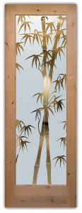 modern entry doors etched glass designs asian style wooden sans soucie bamboo shoots