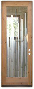 glass doors etched glass modern style mosaics pattern design sans soucie