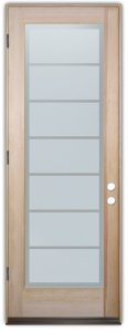 interior doors with glass frosted glass modern design geometric shapes rectangular grand sans soucie