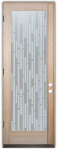glass doors etching glass modern style linear patterns strips vertical sans soucie