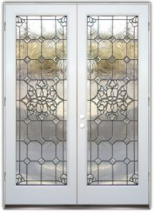 Glass Front Doors Beveled Glass White Frame Beautiful Bevels Door