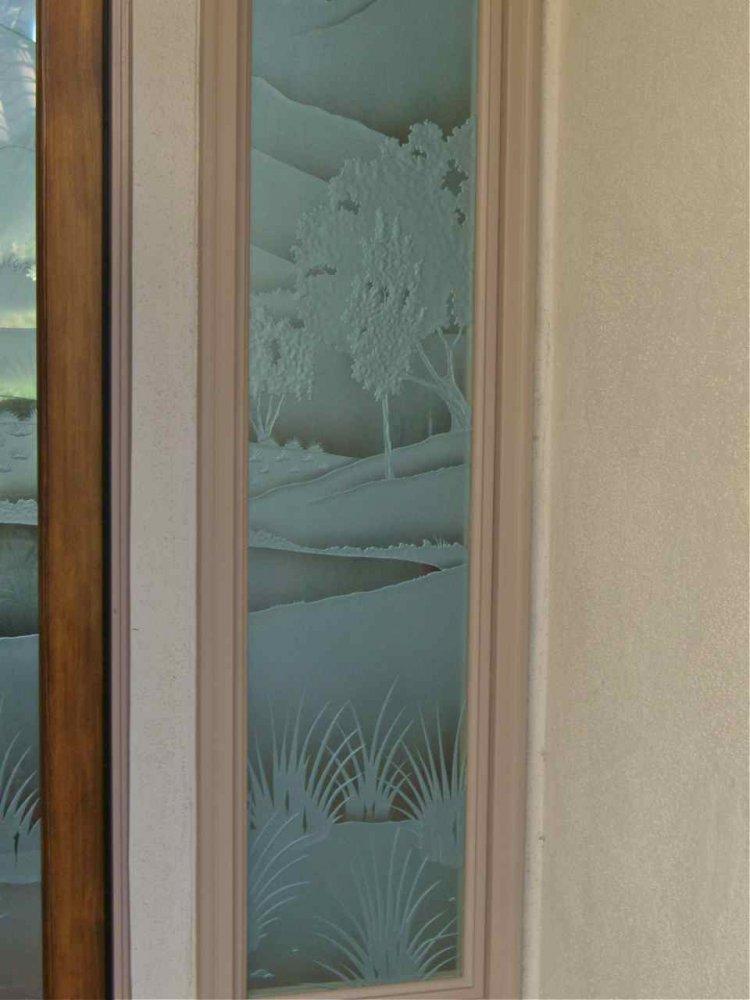 Fairway Views Door Glass Inserts Sans Soucie