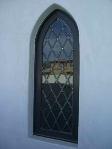 glass window glass etching traditional decor linear patterns beveled diamonds gable sans soucie